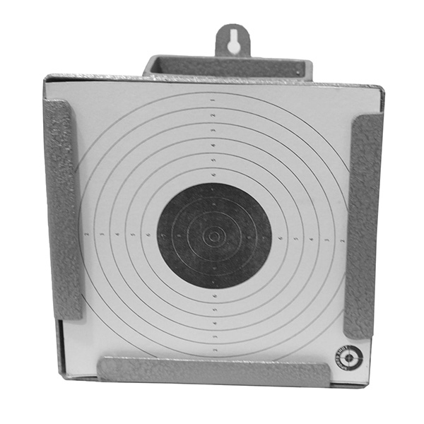 Air pistol pellet catcher